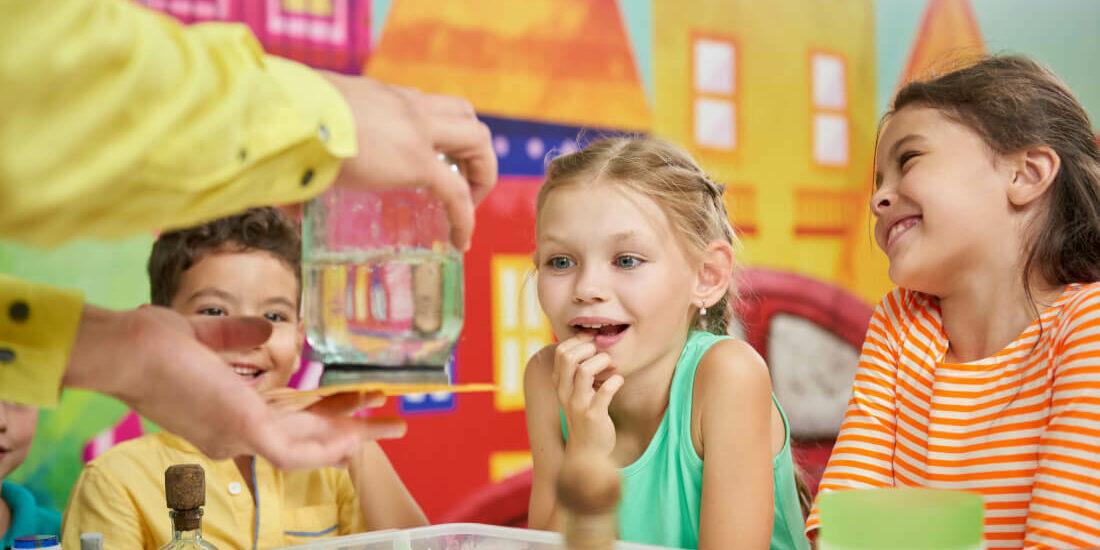 Esperimenti acqua per bambini