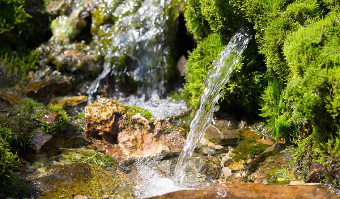 Captazione sorgente acqua
