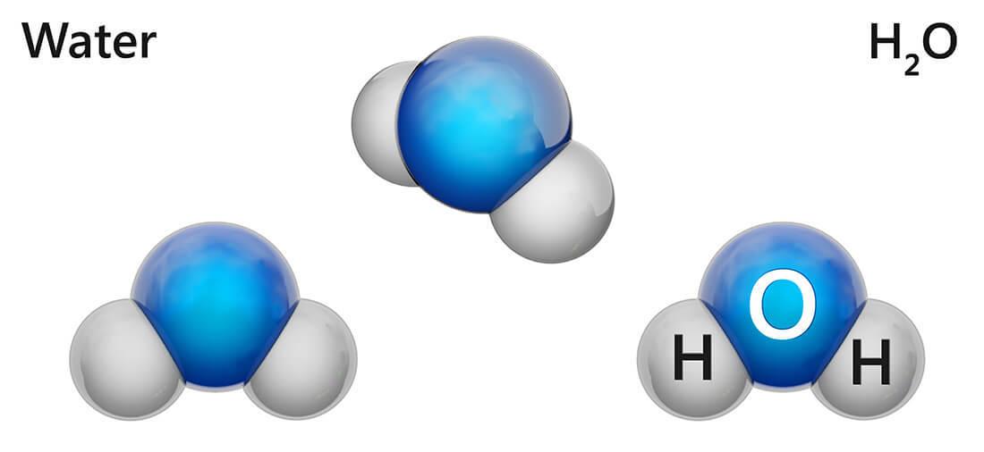 Formula chimica acqua