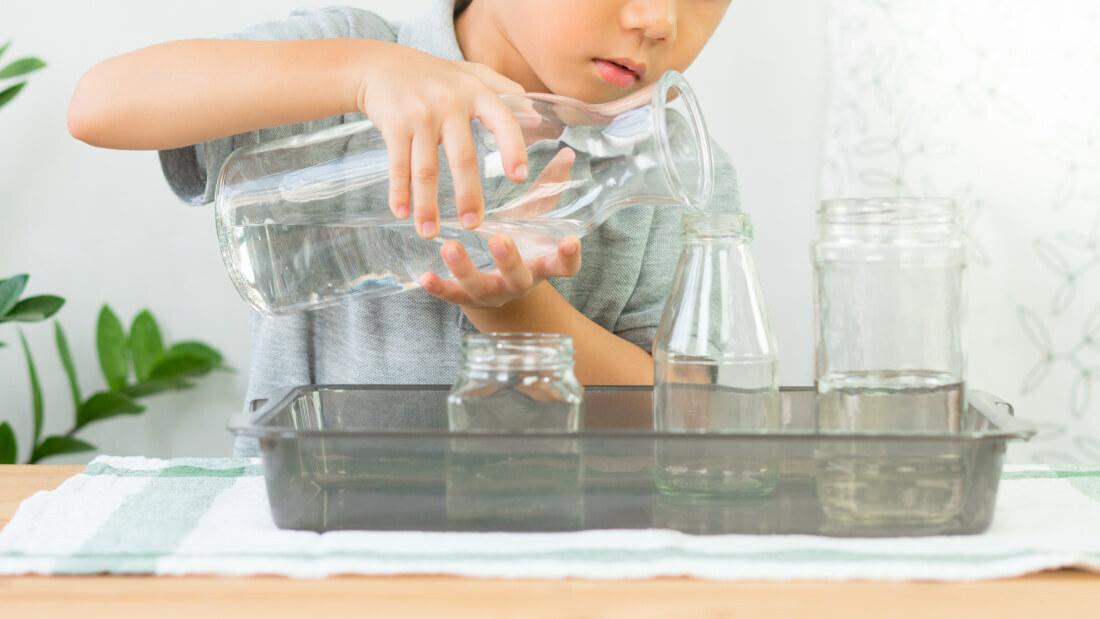 Giochi con acqua per bambini